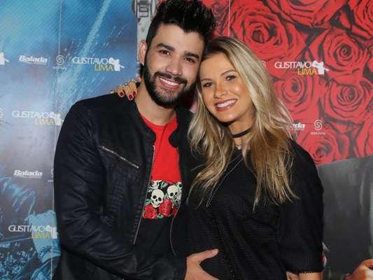 Andressa Suita dispensou ciúme de Gusttavo Lima depois de o marido gravar o clipe 'Eu Vou Te Buscar' com Cleo Pires