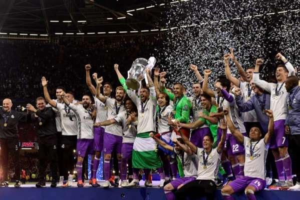 Campeão da Champions 2016/17, Real Madrid foi campeão diante da Juventus