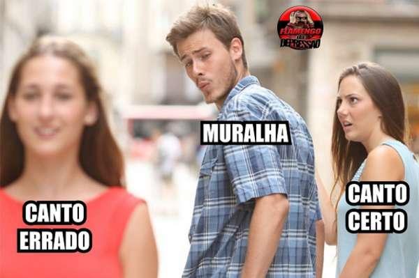 A internet não perdoou a atuação de Muralha diante do Paraná