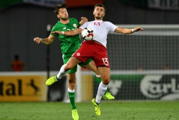 Geórgia 1 x 1 Irlanda
