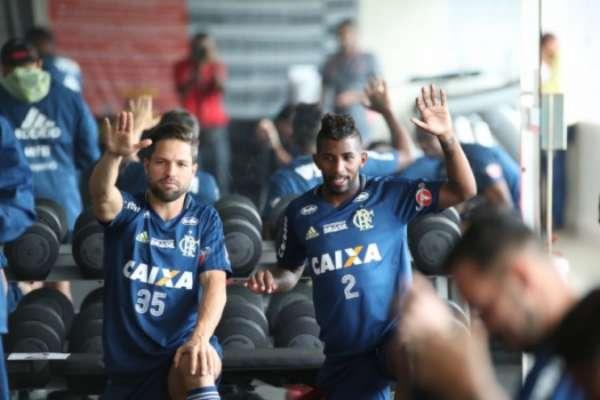 Jogadores do Flamengo estão confiantes para a decisão