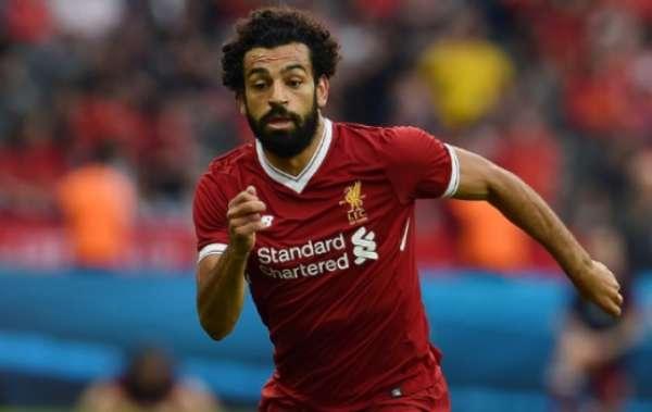 Imagens de Salah no Liverpool