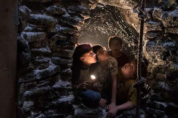 Apesar de ser aterrorizante, filme tem um lado juvenil que explora aventuras e descobertas juvenis