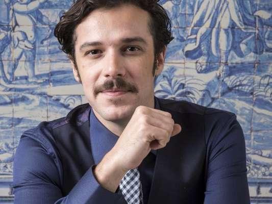 Prestes a estrear como vilão em 'Tempo de Amar', Jayme Matarazzo conta ter recebido o convite de Alcides Nogueira, autor da trama, para atuar na novela