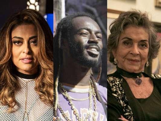 Juliana Paes e Jonathan Azevedo dedicam funk a Betty Faria em vídeo nesta terça-feira, dia 12 de setembro de 2017