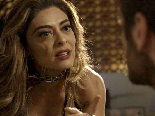 Bibi (Juliana Paes) vai largar Rubinho (Emílio Dantas) na cadeia após o traficante admitir traição na novela 'A Força do Querer'