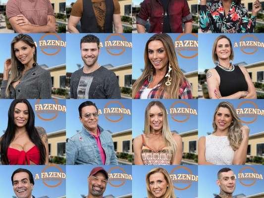'A Fazenda - Nova Chance' reúne 16 ex-participantes de realities
