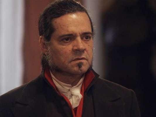 Bonifácio (Felipe Camargo) briga com Pedro (Caio Castro) e decide abandonar seu cargo no governo, em cenas da Novela 'Novo Mundo', a partir de 18 de setembro de 2017