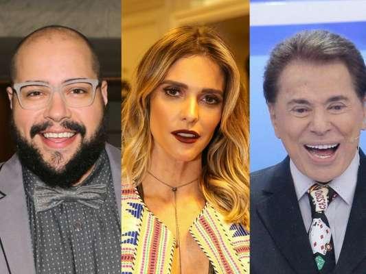 Tiago Abravanel apoia Fê Lima em polêmica com avô Silvio Santos em entrevista ao Purepeople, nesta quarta-feira, dia 13 de setembro de 2017