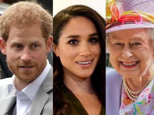 Príncipe Harry apresentou a namorada, Meghan Markle, à sua avó, rainha Elizabeth II, no dia 3 de setembro de 2017, pouco mais de um ano após assumirem o namoro
