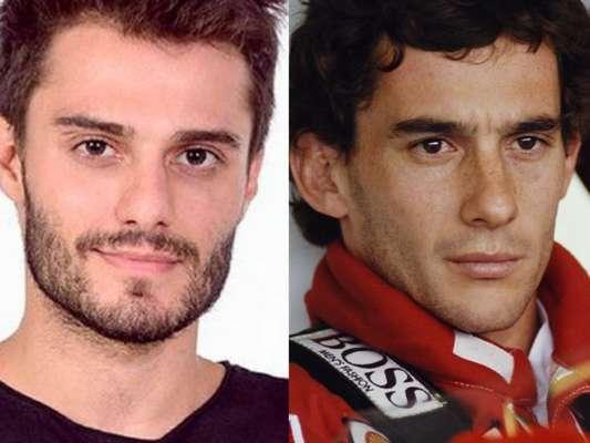 Hugo Bonemer vai interpretar o piloto Ayrton Senna nos palcos em musical