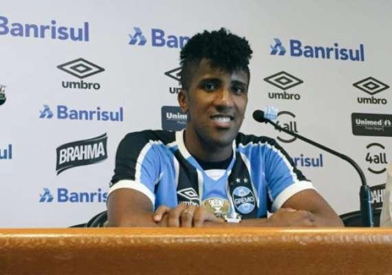 Ex-Botafogo, Cortez diz viver a melhor fase da carreira no Grêmio