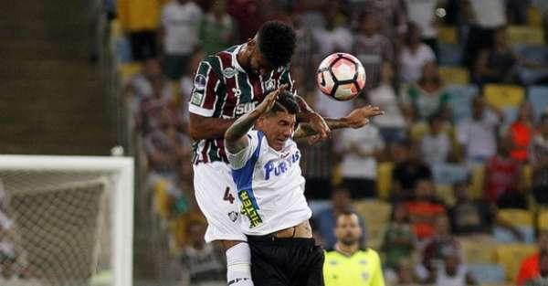Renato Chaves disputa com atacante do Liverpool-URU. Provavelmente, terá a companhia de...
