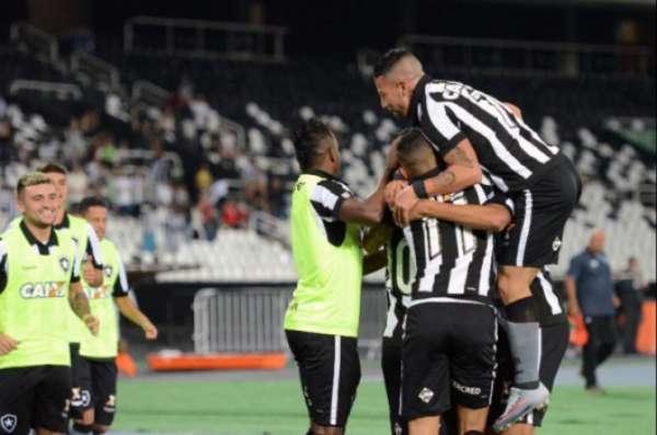 Último jogo: Botafogo 1x0 Grêmio - 13/08/2017 - Nilton Santos - Brasileirão