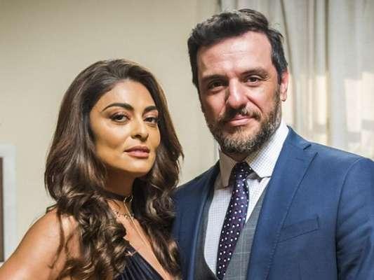 Bibi (Juliana Paes) e Caio (Rodrigo Lombardi) ficam juntos no final da novela 'A Força do Querer', diz a coluna 'Telinha', do jornal 'Extra', nesta quinta-feira, 14 de setembro de 2017