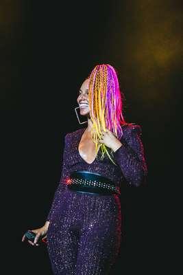Alicia Keys agita o público na terceira noite do Rock in Rio