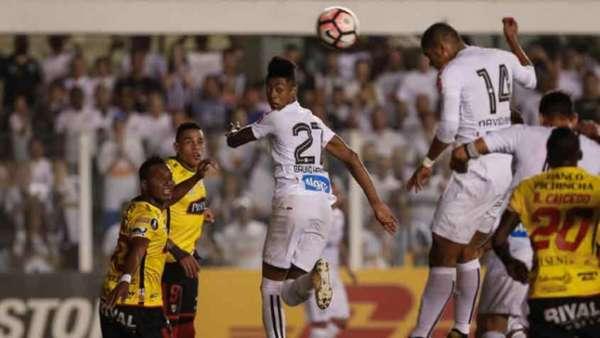 Santos 0 x 1 Barcelona