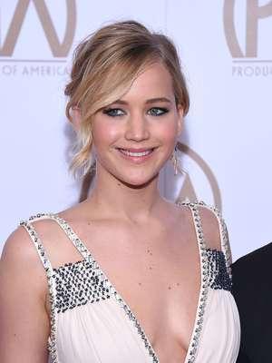 O sorriso de Jennifer Lawrence