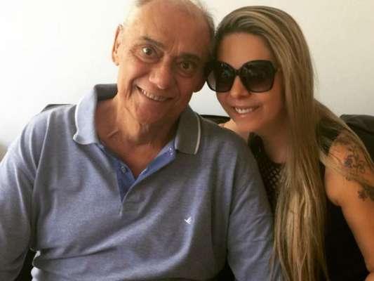 Namorada de Marcelo Rezend, Luciana Lacerda nega testamento de jornalista