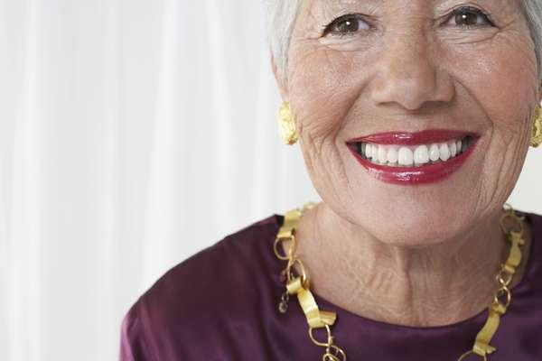 Não tem idade para ter um sorriso bem branco!