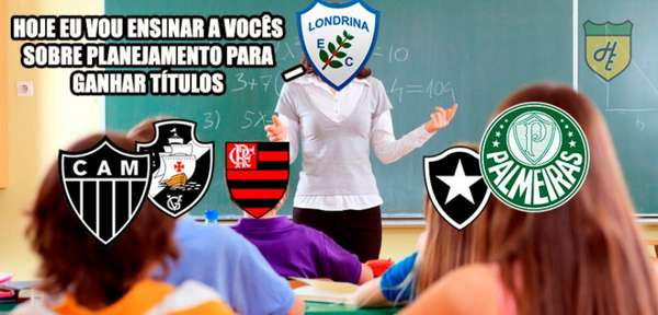 Os melhores memes do título do Londrina diante do Atlético-MG