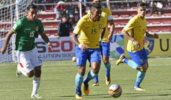 O Brasil, que empatou em 0 a 0 com a Bolívia na última quinta-feira, chegou a 38 pontos e já assegurou a vaga para o Mundial de 2018 com antecedência. Sua participação nas Eliminatórias é encerrada contra o Chile.