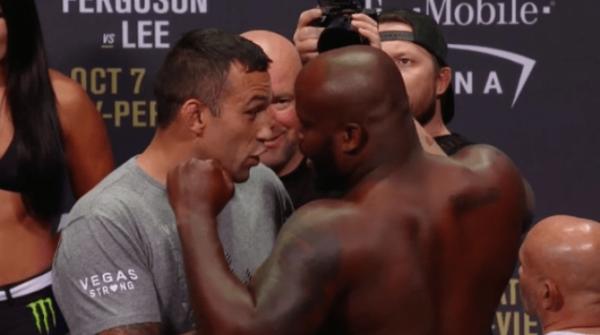 Fabricio Werdum encara Derick Lewis antes do UFC 216
