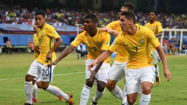 Brasil venceu a Espanha na estreia do Mundial Sub-17