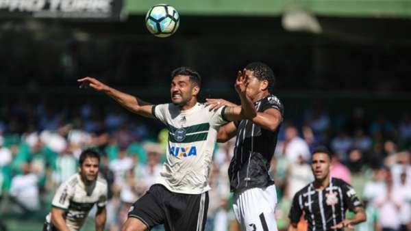 Último encontro: Coritiba 0 x 0 Corinthians - primeiro turno