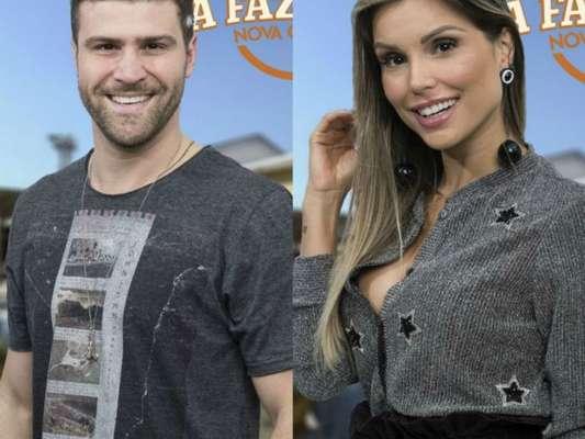 Marcelo Ié Ié falou que está namorando Flávia Viana em 'A Fazenda 9' nesta quarta-feira, 11 de outubro de 2017
