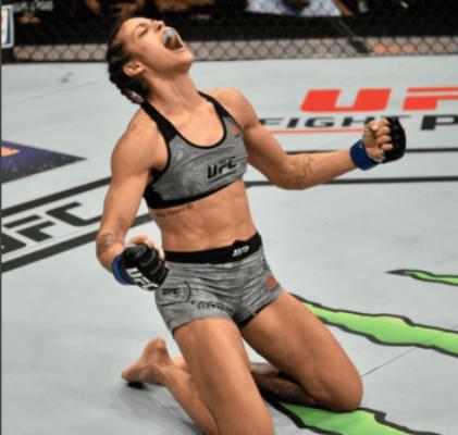UFC 216: Poliana Botelho venceu Pearl Gonzales em sua estreia