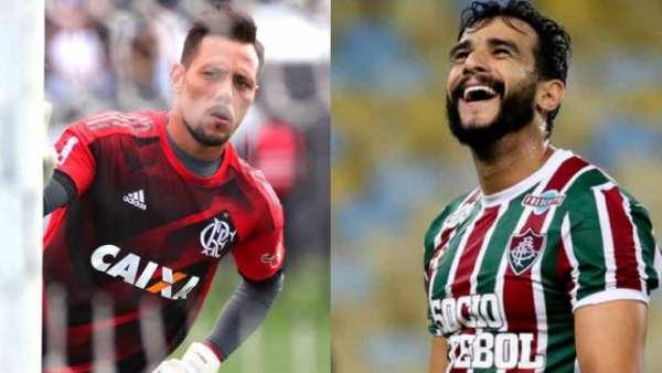 Diego Alves e Henrique Dourado duelam nesta quinta. Ambos tem ótimo aproveitamento em pênaltis