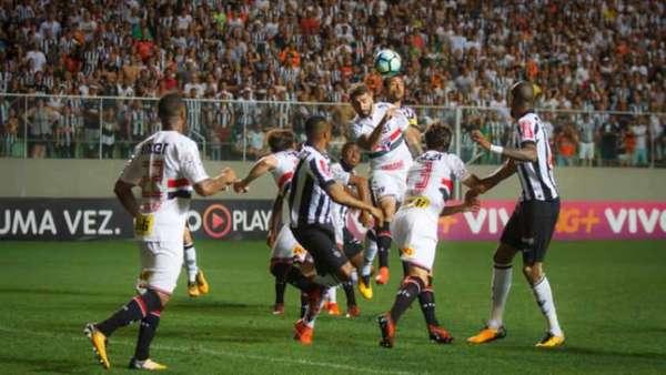 Atlético-MG 1 x 0 São Paulo