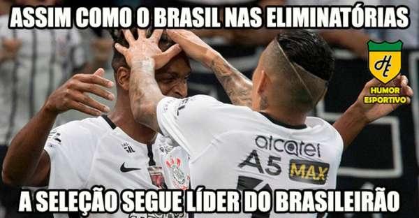 Humor Esportivo: os melhores memes da vitória do Corinthians diante do Coxa