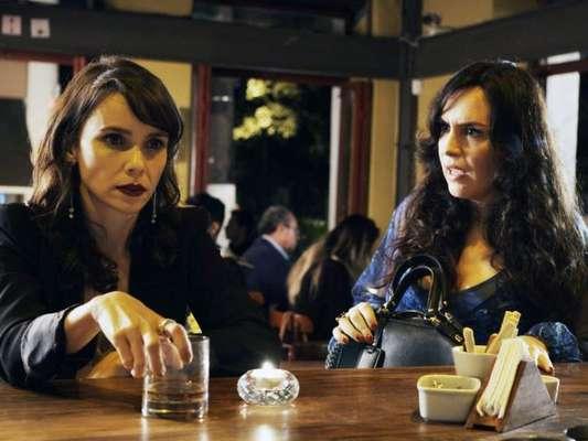 Mira (Maria Clara Spinelli) vai denunciar Irene (Débora Falabella) em troca de uma delação premiação nos próximos capítulos da novela 'A Força do Querer'