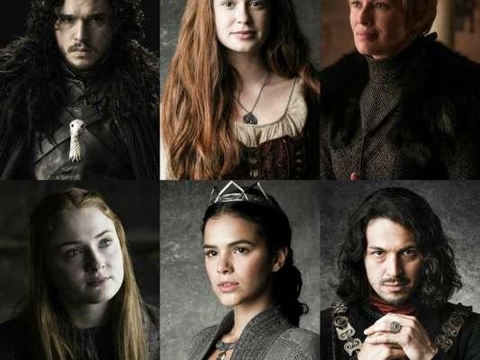 Internautas apontaram semelhanças entre 'Deus Salve o Rei' e a série 'Game of Thrones', da HBO. Veja fotos!