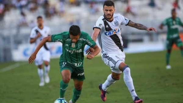 No primeiro turno, Palmeiras venceu a Ponte Preta por 2 a 1 em Campinas