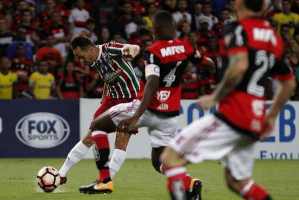 Lucas - Flamengo x Fluminense