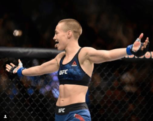 Rose Namajunas é a nova campeã peso-palha feminino do UFC
