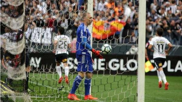 Corinthians abriu 2 a 0 no clássico deste domingo na Arena