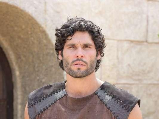 Asher (Dudu Azevedo) contrai lepra, na última semana da novela 'O Rico e Lázaro'