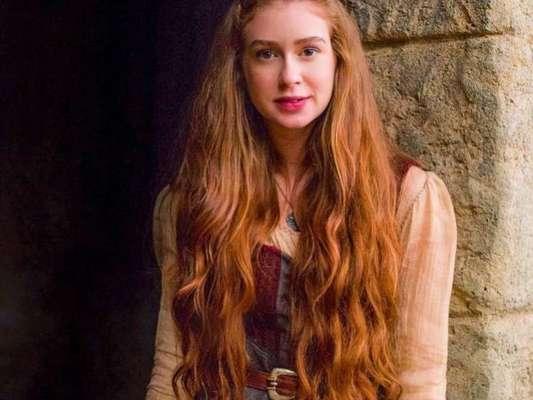 Marina Ruy Barbosa admite tensão com flecha em aula para novela 'Deus Salve o Rei' em entrevista ao 'Gshow' publicada neste sábado, dia 11 de novembro de 2017