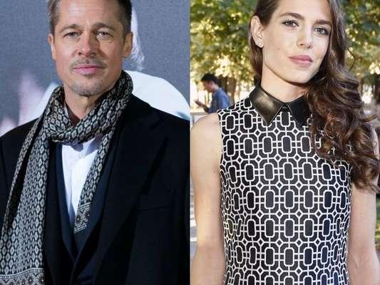 Brad Pitt começou a namorar a princesa de Mônaco Charlotte Casiraghi, segundo a revista australiana 'New Idea'
