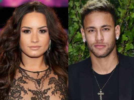 Em Londres, Demi Lovato assistiu jogo do Brasil nesta terça-feira, 14 de novembro de 2017