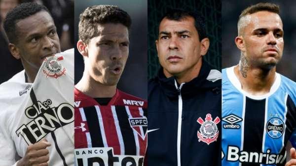 Jô, Hernanes, Fábio Carille e Luan foram alguns mencionados por jornalistas