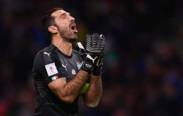 Buffon lamenta muito a eliminação da Itália. Confira as capas de jornais italianos a seguir