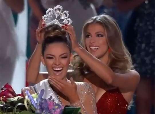 O sorriso da Miss Universo 2017