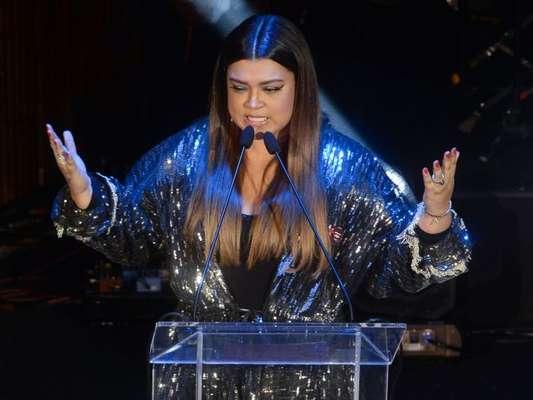Preta Gil comandou a primeira edição do Women's Music Event Awards by Vevo, uma premiação dedicada apenas para mulheres, em São Paulo, na terça-feira, 28 de novembro de 2017