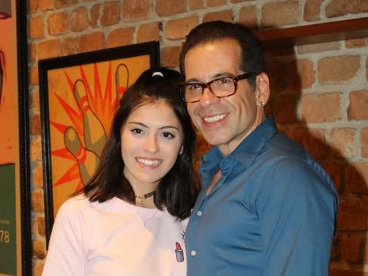 Leandro Hassum contou que a filha, Pietra, cospia comida, escondida: 'Não ser gordo como papai'