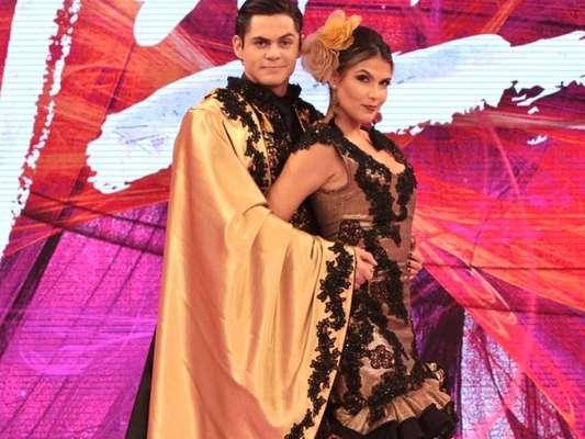 Lucas Veloso revelou que já apresentou a namorada, Nathália Melo, à mãe